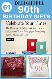 delightful 90th birthday gifts thrill your favorite man or women who is turning 90 with