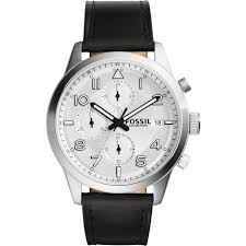 fs5136 fossil daily black watch 44mm 30 fossil daily fs5136 men s watches black