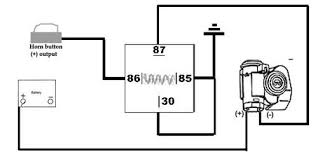 wiring diagram for a bosch relay wiring image wiring diagram for air horn relay wire diagram on wiring diagram for a bosch relay