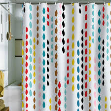 colorful shower curtains. Simple Curtains Khristian A Howells Nolitau0027s Drops Shower Curtain Throughout Colorful Shower Curtains O