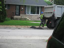 Resident Catches Contractor Putting Asphalt Down A Sewer