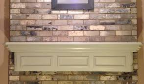 Railroad Tie Mantle painting my fireplace mantel easy diy youtube 7158 by guidejewelry.us