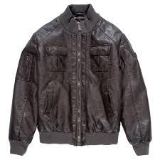 boys leather er jacket thumbnail
