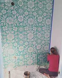 Small Picture The 25 best Wall stencil patterns ideas on Pinterest Wall
