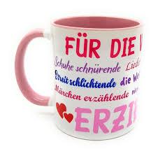 Danke Tasse Für Die Weltbeste Erzieherin Abschiedsgeschenk