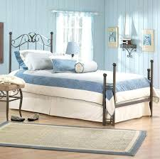 black iron bed bedroom vintage blue master bedroom decor ideas with blue wooden painted wall and