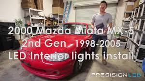 Miata Led Interior Lights Mazda Miata Mx 5 Premium Led Interior Package 1998 2005