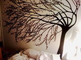 How To Make <b>Big Tree</b> Statement Murals | <b>Diy</b> wall painting, Tree ...