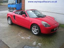 Used Toyota Mr2 Convertible 1.8 Vvt-i Roadster 2dr in Evesham ...