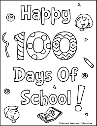 Kindergarten 100 Day Crown Template