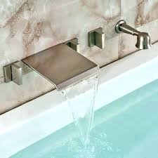 roman style bathtub roman bathtub faucet waterfall bathtub faucet brushed nickel brushed nickel wall mount waterfall