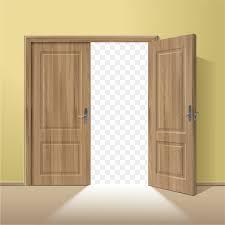 window door wood picture frame vector doors