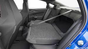 2017 honda civic si sedan interior rear seats wallpaper