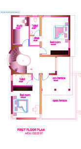 modern house plan 2320 sq ft kerala home design and floor plans