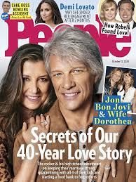 Jon bon jovi goes shirtless as he enjoys a day on the beach with wife dorothea hurley in st. Jon Bon Jovi Quarantined With All 4 Kids People Com