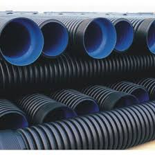 hdpe perforated corrugated drainage pipe with geotextile