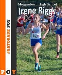 """Morgantown HS XC on Twitter: """"Congratulations to Irene Riggs for earning  @Gatorade WV Girls Cross Country Runner of the Year! @Monongalia_Co  @MohiganAthletic #GatoradePOY… https://t.co/4zA9qQVrix"""""""