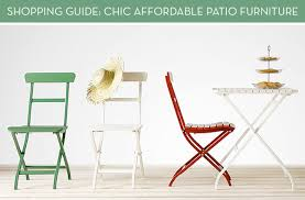 affordable outdoor furniture. shopping guide affordable modern patio furniture youu0027ll actually want in your backyard curbly outdoor