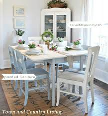 country cottage dining room. Town And Country Dining Table Cottage Room