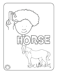 Small Picture Printable Stop Sign Coloring Page For The Horse Music Home