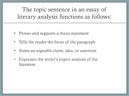 generating topic sentences american literature ppt generating topic sentences american literature 11 2 the topic sentence in an essay