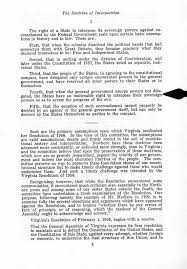 brown v board of education documents virginians respond the doctrine of interposition its history and application a report on senate joint resolution