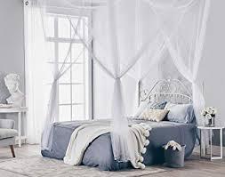 Amazon.com: Truedays Four Corner Post Bed Princess Canopy Mosquito ...