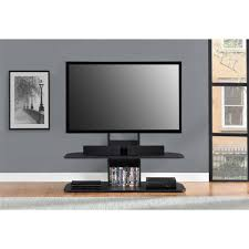 Ameriwood Home Galaxy TV Stand With Mount For TVs Up To 65 Black 65 Inch Tv Stand K9