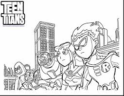 Small Picture unbelievable teen titans go coloring sheets with teen titans