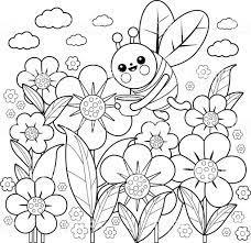 38+ Tranh tô màu vườn hoa đẹp rực rỡ