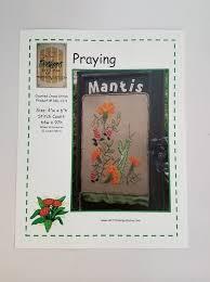 Praying Mantis Cross Stitch Chart