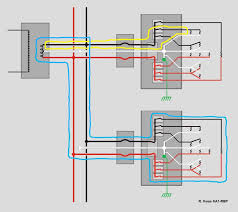 power distrib normal current jpg diagram 3 failure condition at bruce s house house 2 an open neutral service wire occurs but there are no symptoms and 120v loads are all working