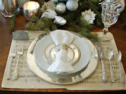 dining place settings. Dining Place Settings Unique Christmas Table Decorations Entertaining Ideas Party Themes L