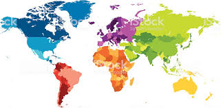 Continents Genuine Maps