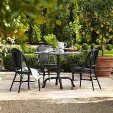 concrete outdoor dining tables making