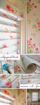 pink shabby chic furniture. Shabby Chic Wallpaper Covered Blinds Pink Furniture