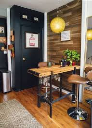 apartments design ideas. Industrial Modern Style In A 420 Square Foot Hell\u0027s Kitchen Studio Apartments Design Ideas