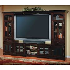 dark wood entertainment center for oversized flat screen tv featured cabinet with glass doors stunning