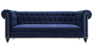 Gertrudes Velvet Chesterfield Sofa