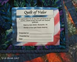 quilts of valor label | Quilts 2007: QUilt of Valor Label - May ... & quilts of valor label | Quilts 2007: QUilt of Valor Label - May Adamdwight.com