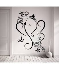 decor kafe decal style creative ganesha wall sticker decor kafe decal style creative ganesha wall sticker at best s in india on snapdeal