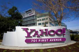 file photo of a yahoo signs siting out front of their file photo of a yahoo signs siting out front of their headquarters in sunnyvale