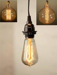 edison pendant light antique vintage swag lamp 3 bulb uk