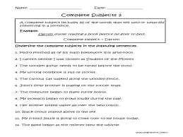 Simple And Complete Subjects Worksheets - Checks Worksheet