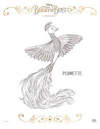 The thirtieth film in the animated classic apart from belle and the beast, other principal characters like lumière, cogsworth, mrs. Free Printable Beauty And The Beast Coloring Pages This Fairy Tale Life