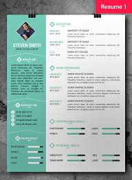 Free Unique Resume Templates Inspiration Free CV Resume PSD Templates Freebies Graphic Design Junction
