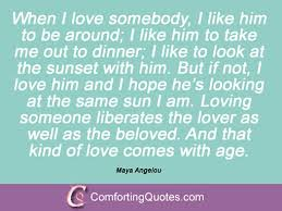 Maya Angelou Love Quotes 5 Awesome Famous Maya Angelou Love Quotes ComfortingQuotes