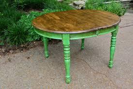 colorful painted furniture. Via Eccentric Little Beauties Colorful Painted Furniture