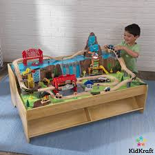 kidkraft grand central station train set and table years kidkraft ride around town piece instructions