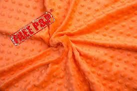 Minky plush fabric, minky dimple, orange dot plush, kids room ... & Minky plush fabric, minky dimple, orange dot plush, kids room decoration, quilting  supplies, sewing supplies, fabric wholesale, fabric by the metre ... Adamdwight.com